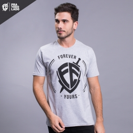 CAMISA FOREVER YOURS - CINZA